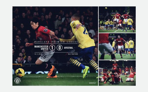 Manchester United v Arsenal Wallpaper 4