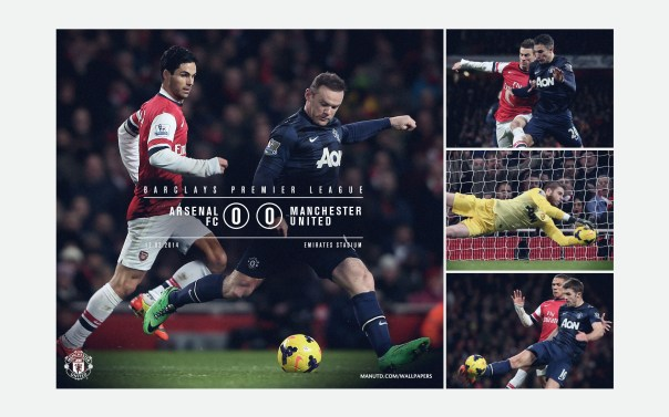 Manchester United v Arsenal Wallpaper