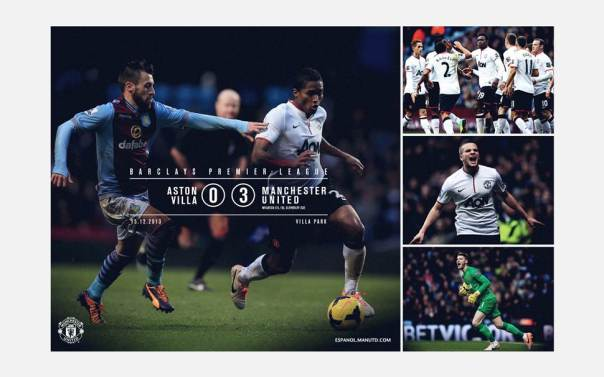 Manchester United v Aston Villa Wallpaper 1