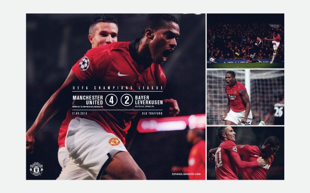 Manchester United v Bayer Leverkusen Wallpaper 2
