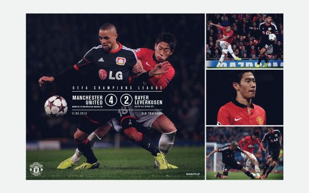 Manchester United v Bayer Leverkusen Wallpaper 4