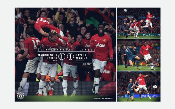 Manchester United v Bayern Munich Wallpaper UCL