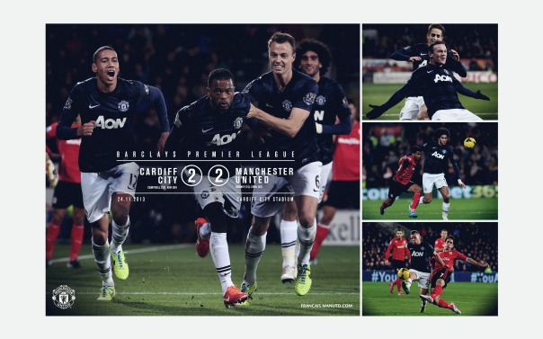 Manchester United v Cardiff City Wallpaper 2