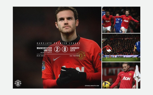 Manchester United v Cardiff City Wallpaper 4