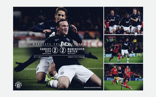 Manchester United v Cardiff City Wallpaper
