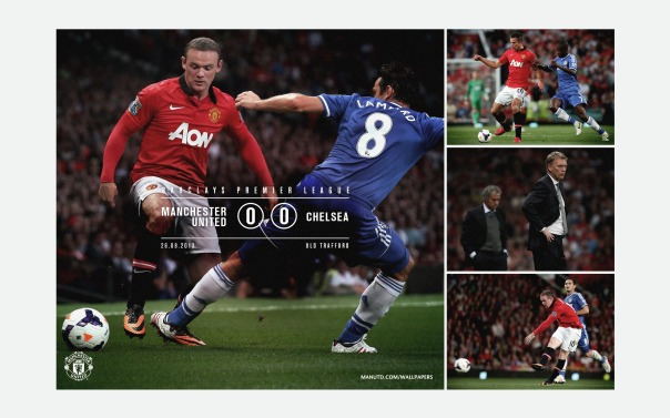 Manchester United v Chelsea Wallpaper 1