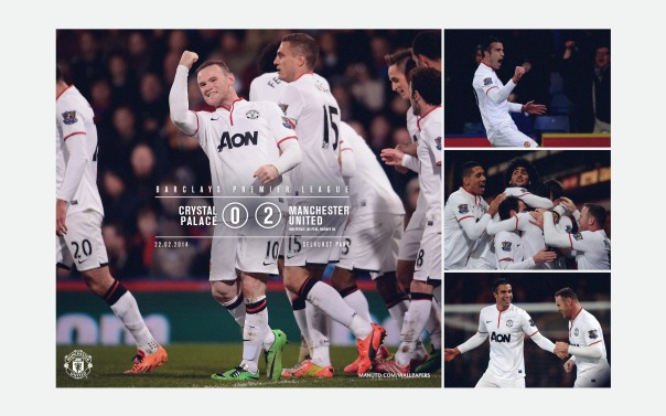 Manchester United v Crystal Palace Wallpaper 1