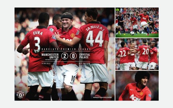Manchester United v Crystal Palace Wallpaper