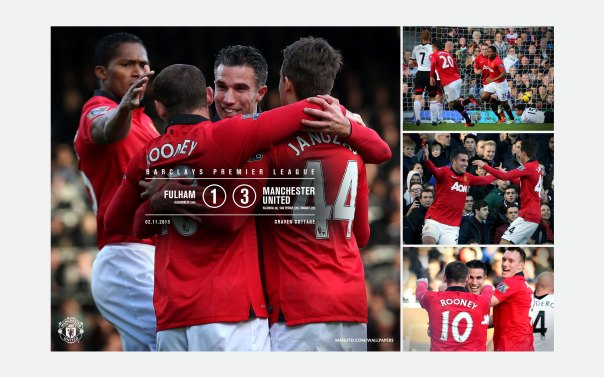 Manchester United v Fulham Wallpaper 1
