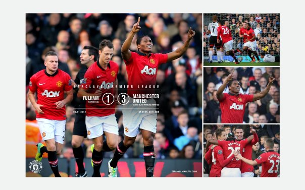 Manchester United v Fulham Wallpaper 2