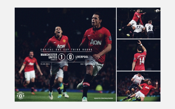 Manchester United v Liverpool Wallpaper COC 1