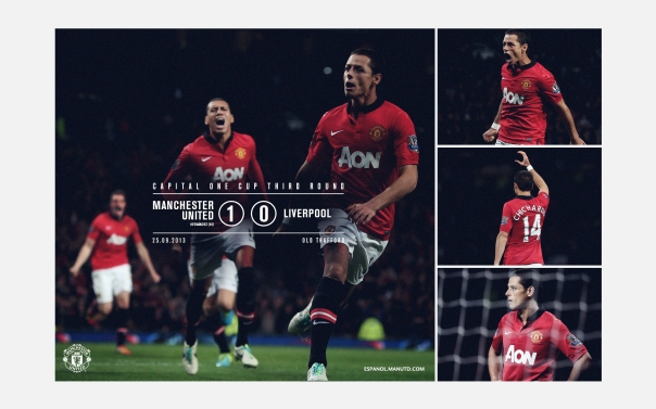 Manchester United v Liverpool Wallpaper COC 2
