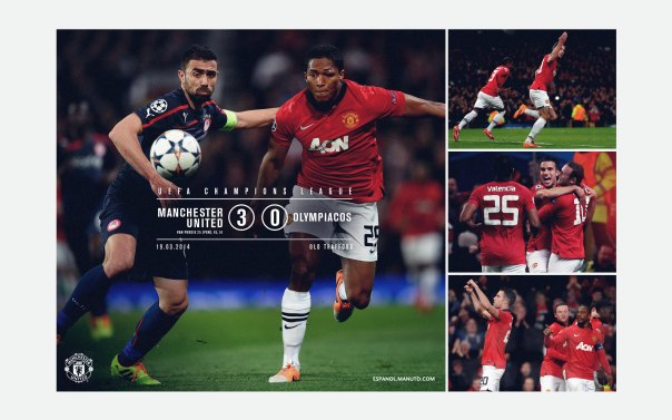 Manchester United v Olympiacos Wallpaper 2