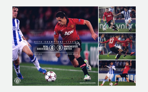 Manchester United v Real Sociedad Wallpaper 2