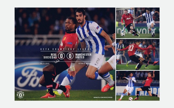 Manchester United v Real Sociedad Wallpaper 3