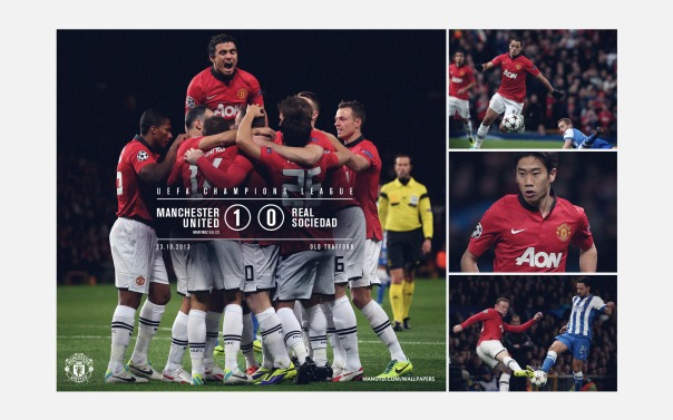 Manchester United v Real Sociedad Wallpaper