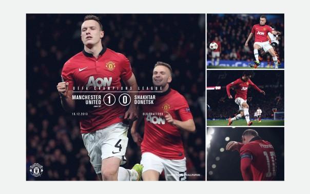 Manchester United v Shakhtar Donetsk Wallpaper UCL