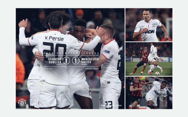 Manchester United v Shakhtar Wallpaper UCL 1