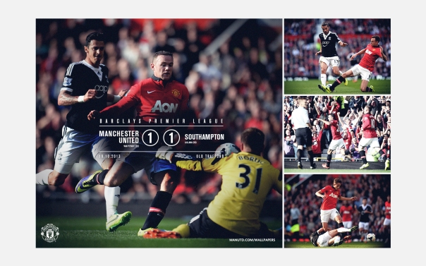 Manchester United v Southampton Wallpaper 1