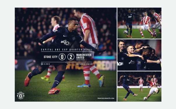 Manchester United v Stoke City Wallpaper COC 2