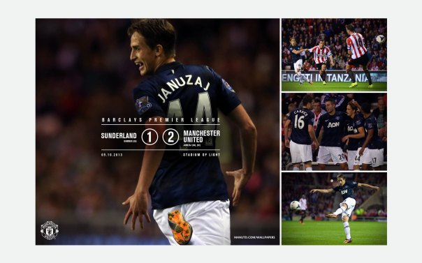 Manchester United v Sunderland Wallpaper 1