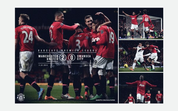 Manchester United v Swansea City Wallpaper 1