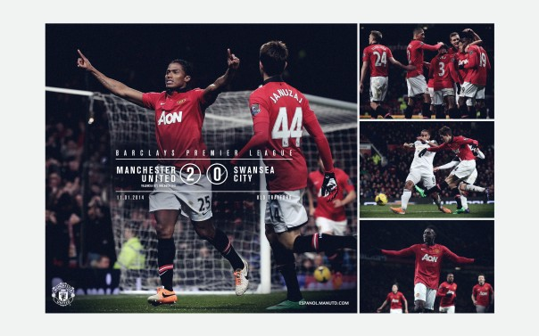 Manchester United v Swansea City Wallpaper 3