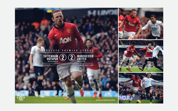 Manchester United v Tottenham Wallpaper 1