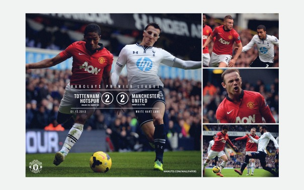 Manchester United v Tottenham Wallpaper 2