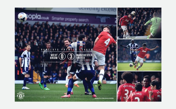 Manchester United v West Brom Wallpaper