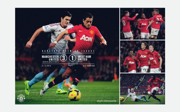 Manchester United v West Ham Wallpaper 2