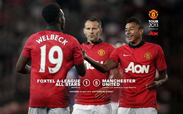 Manchester United Tour 2013 Wallpaper All Stars