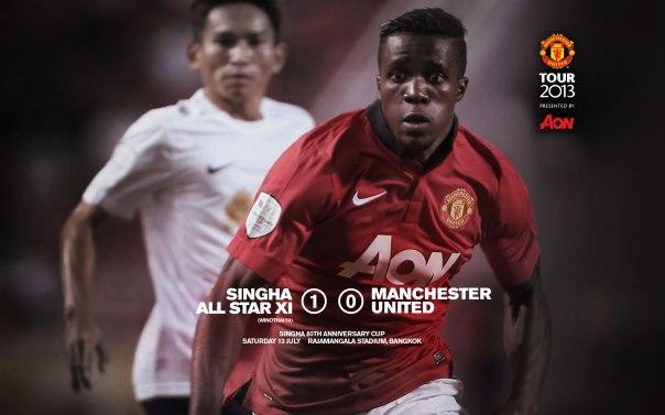 Manchester United Tour 2013 Wallpaper Bangkok