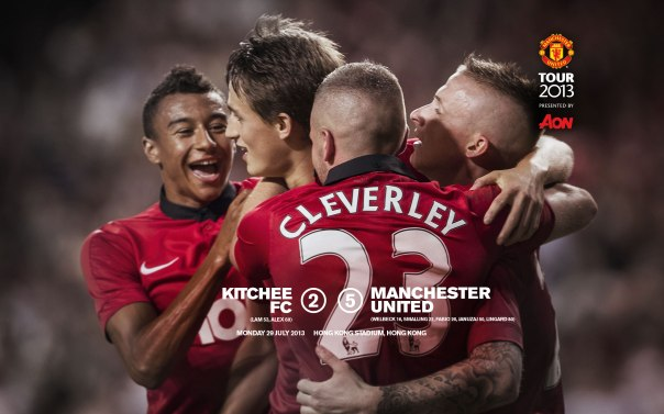 Manchester United Tour 2013 Wallpaper Kitchee