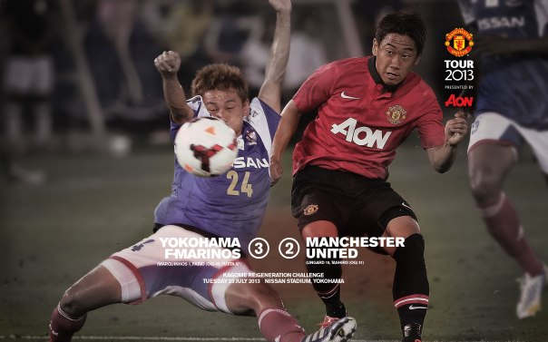 Manchester United Tour 2013 Wallpaper Yokohama